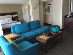Jr Suite at Doubletree by Hilton Waikiki