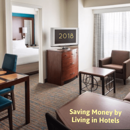 Cost of living in hotels
