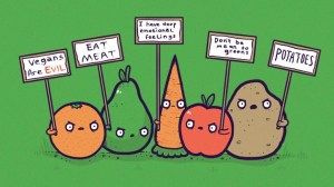 Fruits and veggies anti-vegan