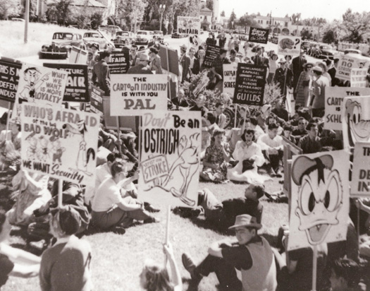 The Disney cartoonists strike, 1941 - Sam Lowry