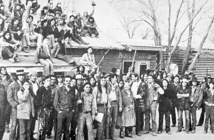 Billedresultat for wounded knee 1973