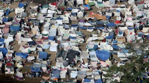 Haiti Address To The Camps Batay Ouvriye