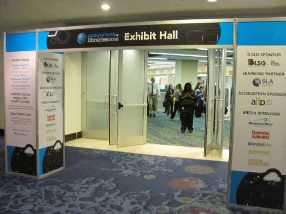 Exhibit Hall Entrance