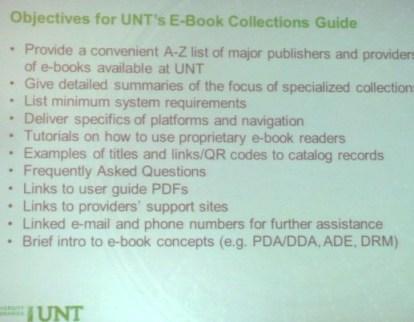 LibGuide objectives
