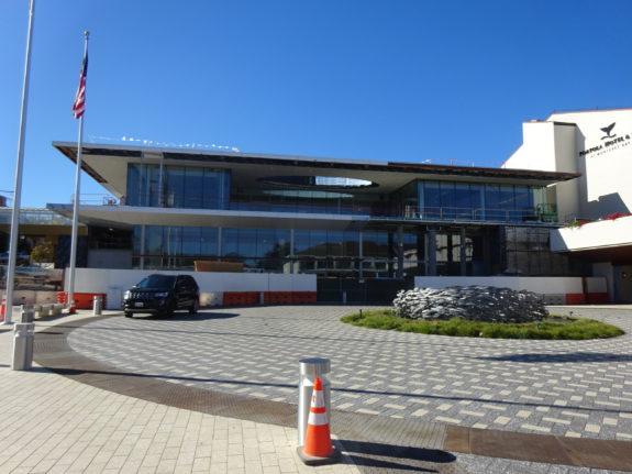 Monterey Conference Center Still Under Construction