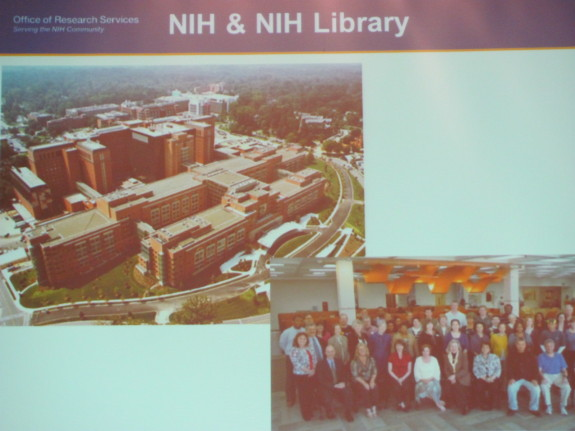 NIH Buildings and Library Staff