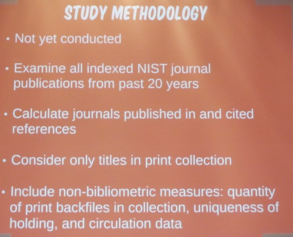 Archive Journal Holdings Study Methodology