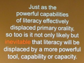 DIsplacement of Literacy