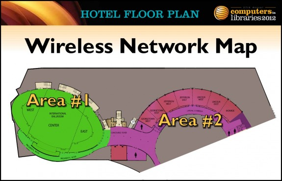 #CILDC Wireless Network Map