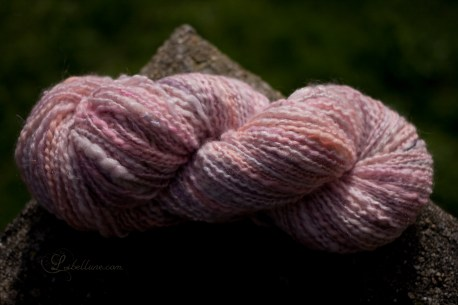 "handspun yarn ""barbapapa"""