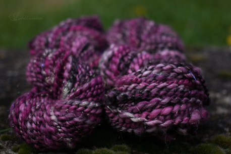 "handspun yarns ""the weird sisters"""