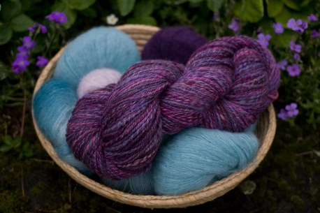 My handspun yarn
