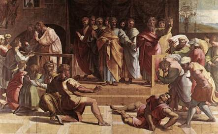 raphael_the_death_of_ananias_1515
