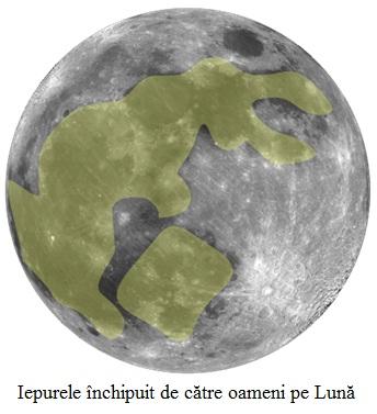 12.4.9.01 Iepurele închipuit de către oameni pe Lună