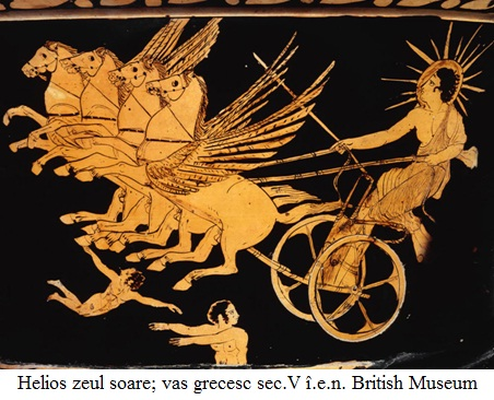2.3.16 Helios zeul soare; vas grecesc sec.V î.e.n. British Museum