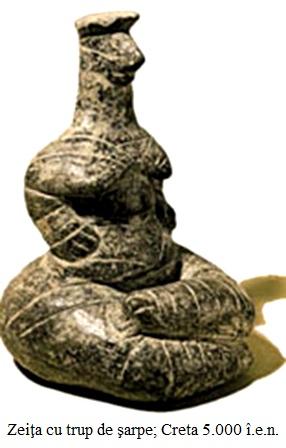 30.1 Zeiţa cu trup de şarpe; Creta 5.000 î.e.n.