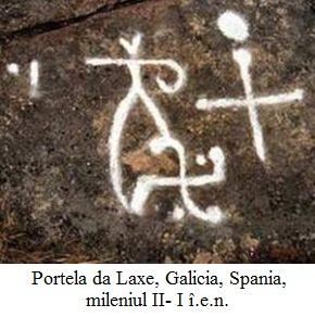 4.1.2.1 Portela da Laxe, Galicia, Spania, mileniul II- I î.e.n. - detaliu