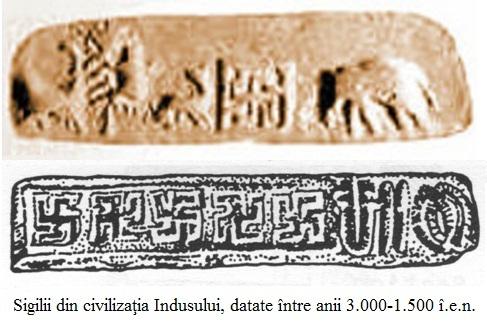 4.1.3.1 Sigilii din civilizaţia Văii Indului 3000 - 1500 î.e.n.