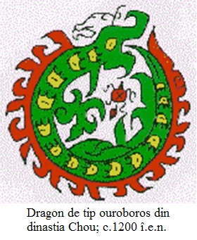 8.7.8.1 Dragon de tip ouroboros din dinastia Chou; c.1200 î.e.n.