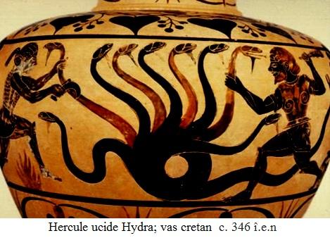 9.2.6.1 Hercule ucide Hydra; vas cretan  c. 346 î.e.n