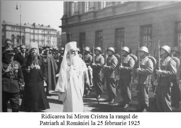 A.17.5.01 Ridicarea lui Miron Cristea la rangul de Patriarh al României la 25 februarie 1925