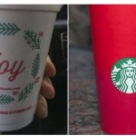 Dunkin Donuts Counters Starbucks Pagan Lesbian Lilith Cups with Christian 'Joy' Cups This Holiday Season