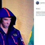 #Phelpsface:  Michael Phelps Face Steely Eyed Glare At Le Clos