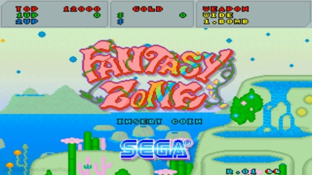 Fantasy Zone Header - February Games