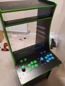 MAME Cabinet - coming together