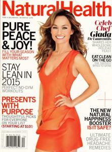 Natural Health Nov/Dec 2014 cover