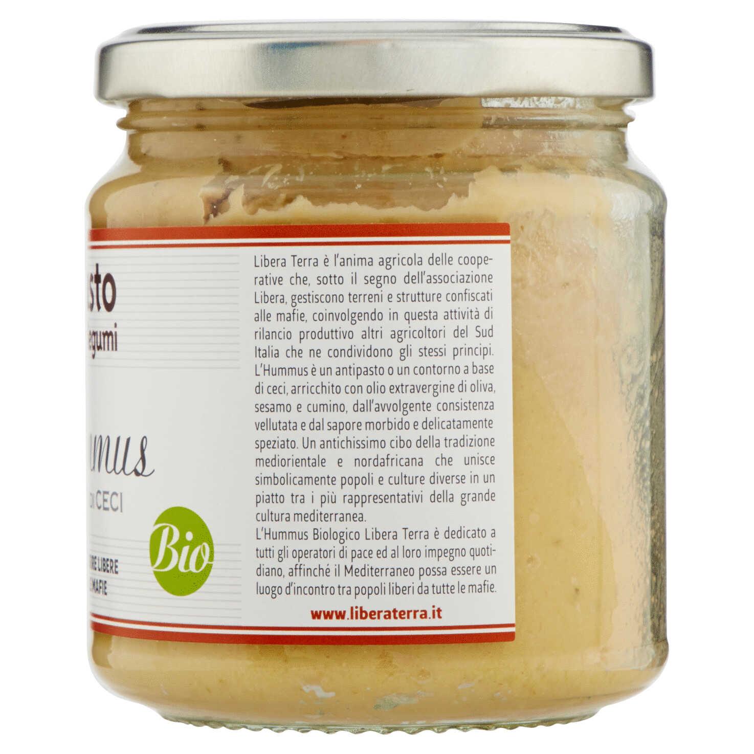 Hummus – Crema di Ceci Biologica 270g
