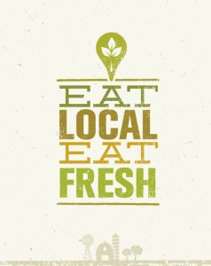 eating local is good for local farmers