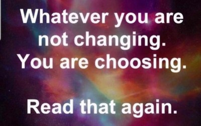 Change Is Your Choice!