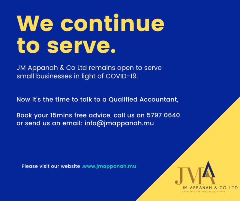 JM APPANAH & CO Ltd