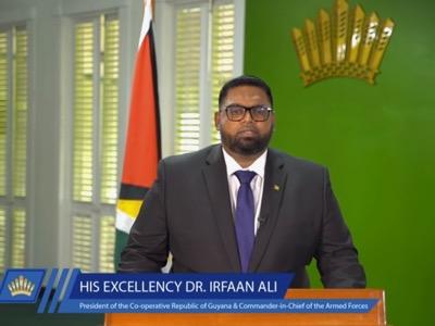 Allocution du président du Guyana contre le Venezuela, par Mohamed Irfaan Ali
