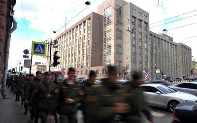 La Russie interpelle un diplomate ukrainien