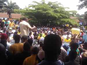 Reps Decision On Edo Assembly: Protests Rock Benin City As Over 10,000 Take To Street