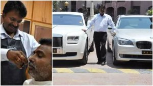 Inside story of Ramesh Babu, the billionaire barber who drives Rolls Royce to his shop