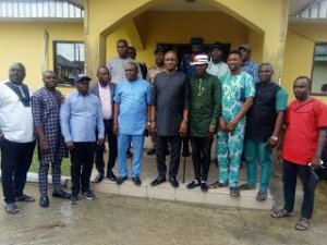 Ezekiel visit's Sapele council boss, preaches peace, makes case for youths