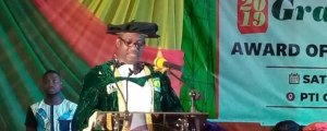 Convocation: We are  committed to educational curriculum that produces entrepreneurs – Okowa