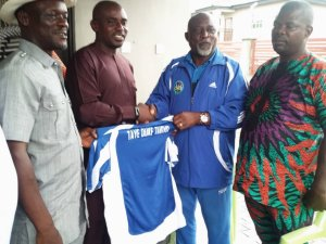 Ijaw/Itsekiri Peace Cup: LOC Visit's Warri South West Council Boss