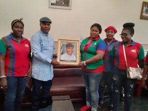 IWC Visit's Takeme, Presents Portrate, As He Calls For Societal Values Reorientation