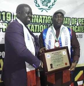 BREAKING: United Nations Honours Agediga With Global Peace Ambassador Award In Warri
