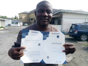 Historic as Daily Watch Publisher, Opukeme graduates with distinction in UK journalism School