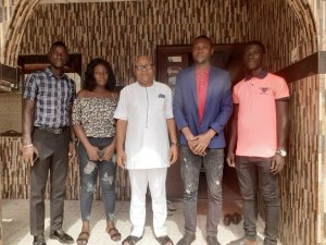 NABLOGS visit's DESOMATECH board chairman, decries poor state of school, presents other issues