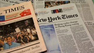 Foreign: China expels US journalists from three top newspapers – The Liberator