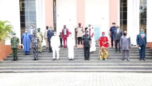 Delta governor inaugurates committees on community policing – The Liberator