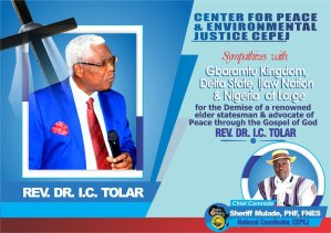Chief Mulade Expresses Shock, Mourns Death Of Rev Tolar, Says Gbaramatu Has Lost A Hero – The Liberator