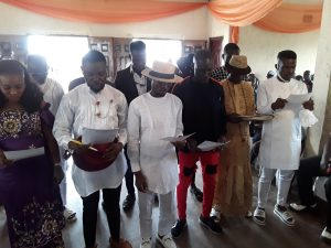 New Dawn As Aladja Youths Graces Ogbe-Ijoh Warri Kingdom Youth Exco Inauguration