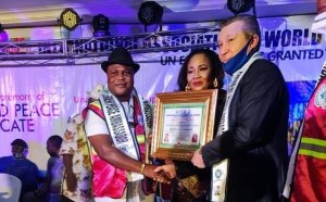 Celebration Galore As Tomone Bags United Nations Eminent Peace Ambassador Award